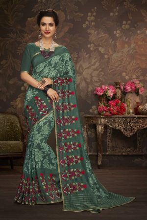 LAXMIPATI MULTICOLOR COTTON-SILK SAREE